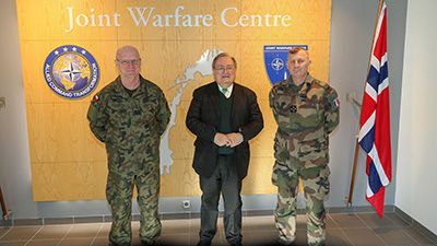 French Ambassador to Norway visits JWC