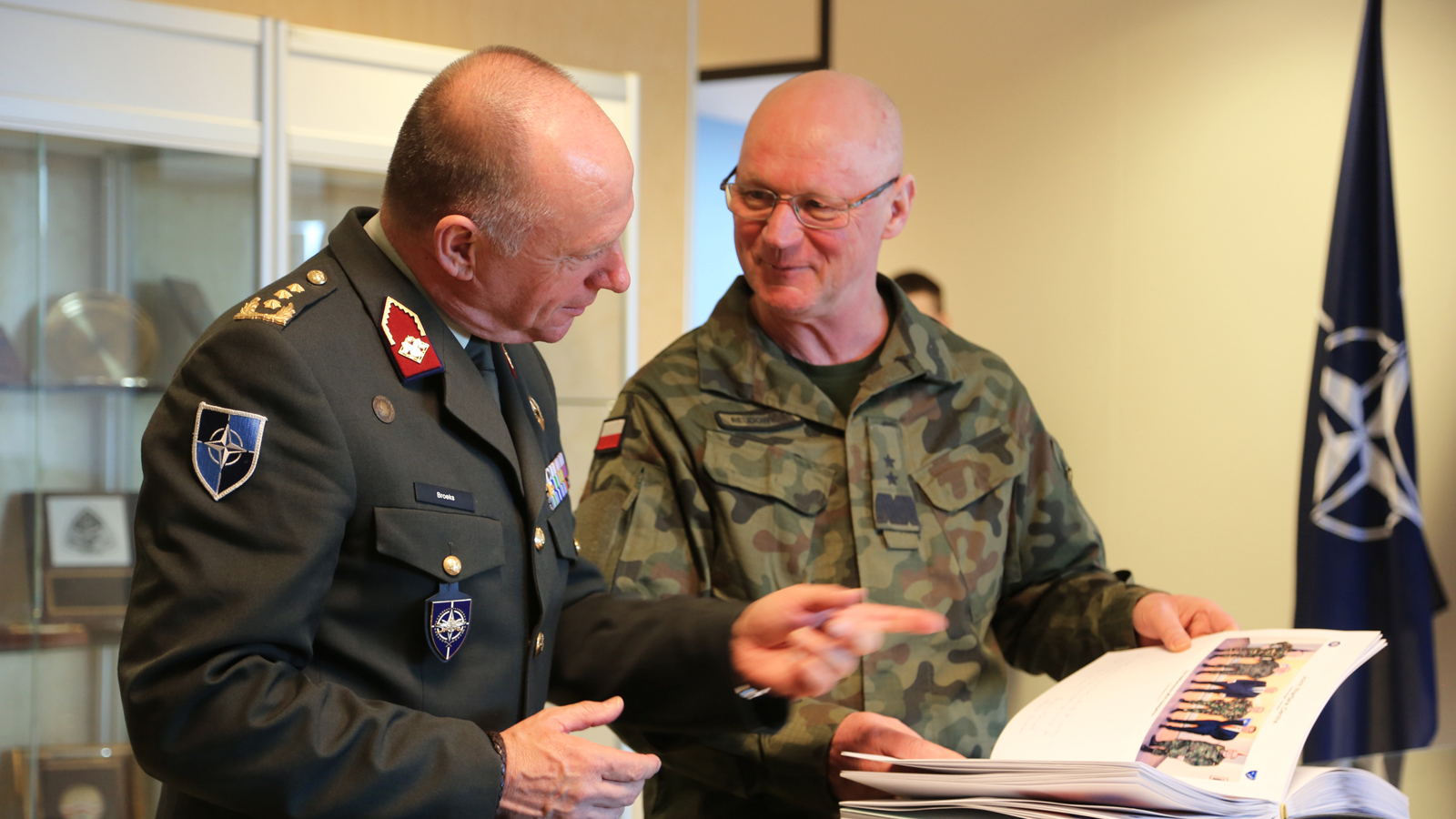 Director General of the NATO International Military Staff visits Joint Warfare Centre