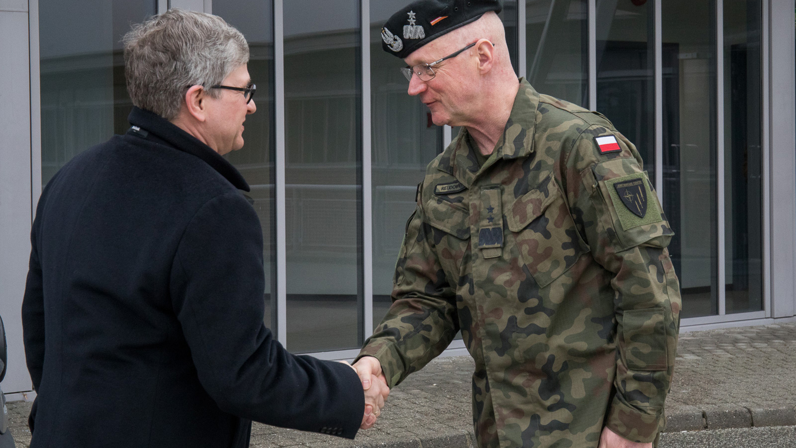 Chief of Polish National Security Bureau visits JWC