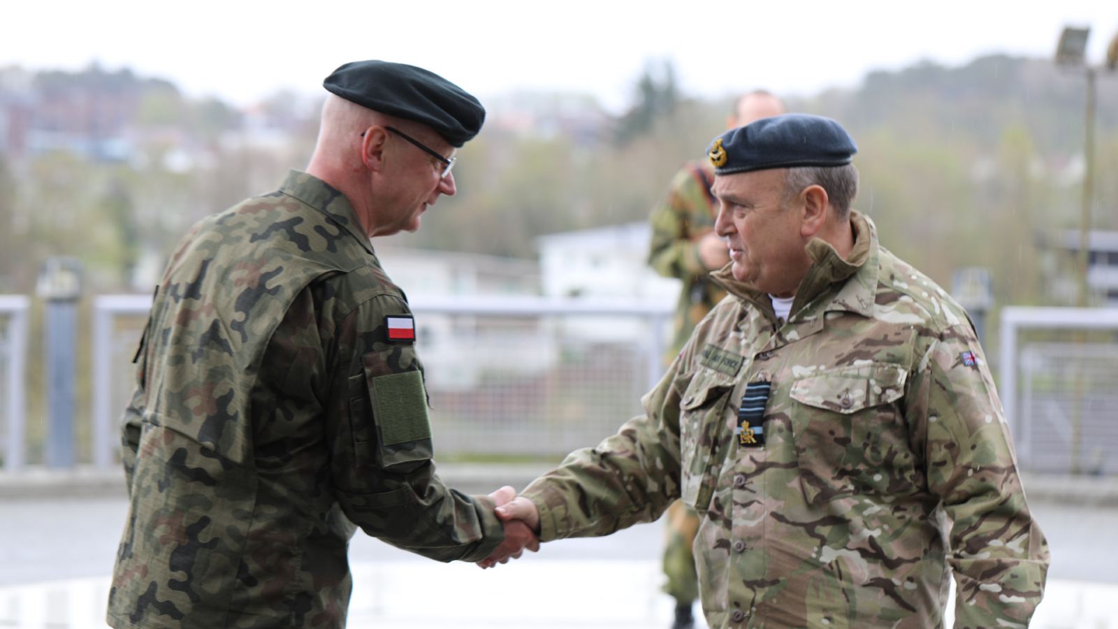 Air Chief Marshal Sir Stuart Peach, British Chief of the Defence Staff and next Chairman of the NATO Military Committee, visits Joint Warfare Centre