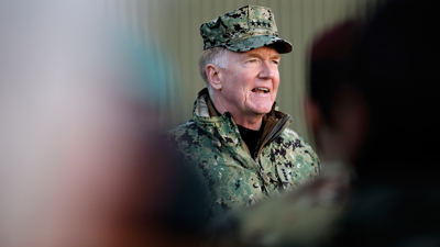 JWC - Admiral James Foggo in April 2019 issue of The Three