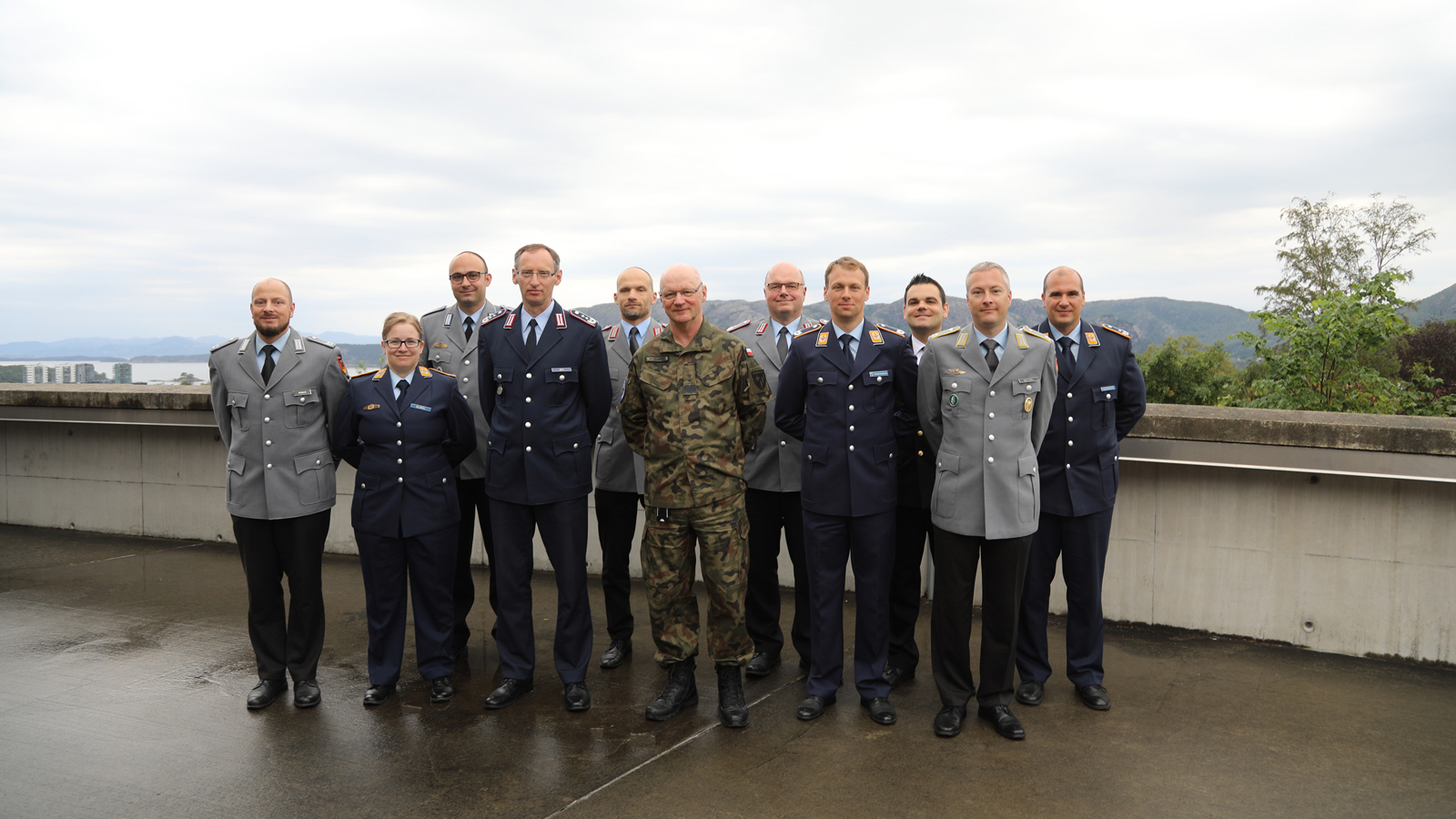 Joint Warfare Centre hosts students from German General Staff College