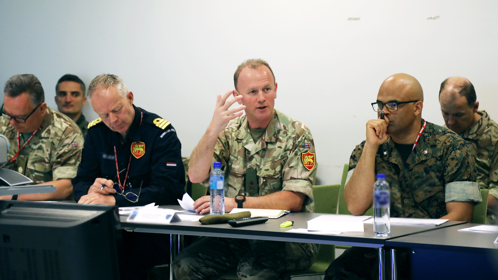 JFC Naples DCOS Plans visits JWC to lead STEADFAST JUPITER-JACKAL 2020 wargame