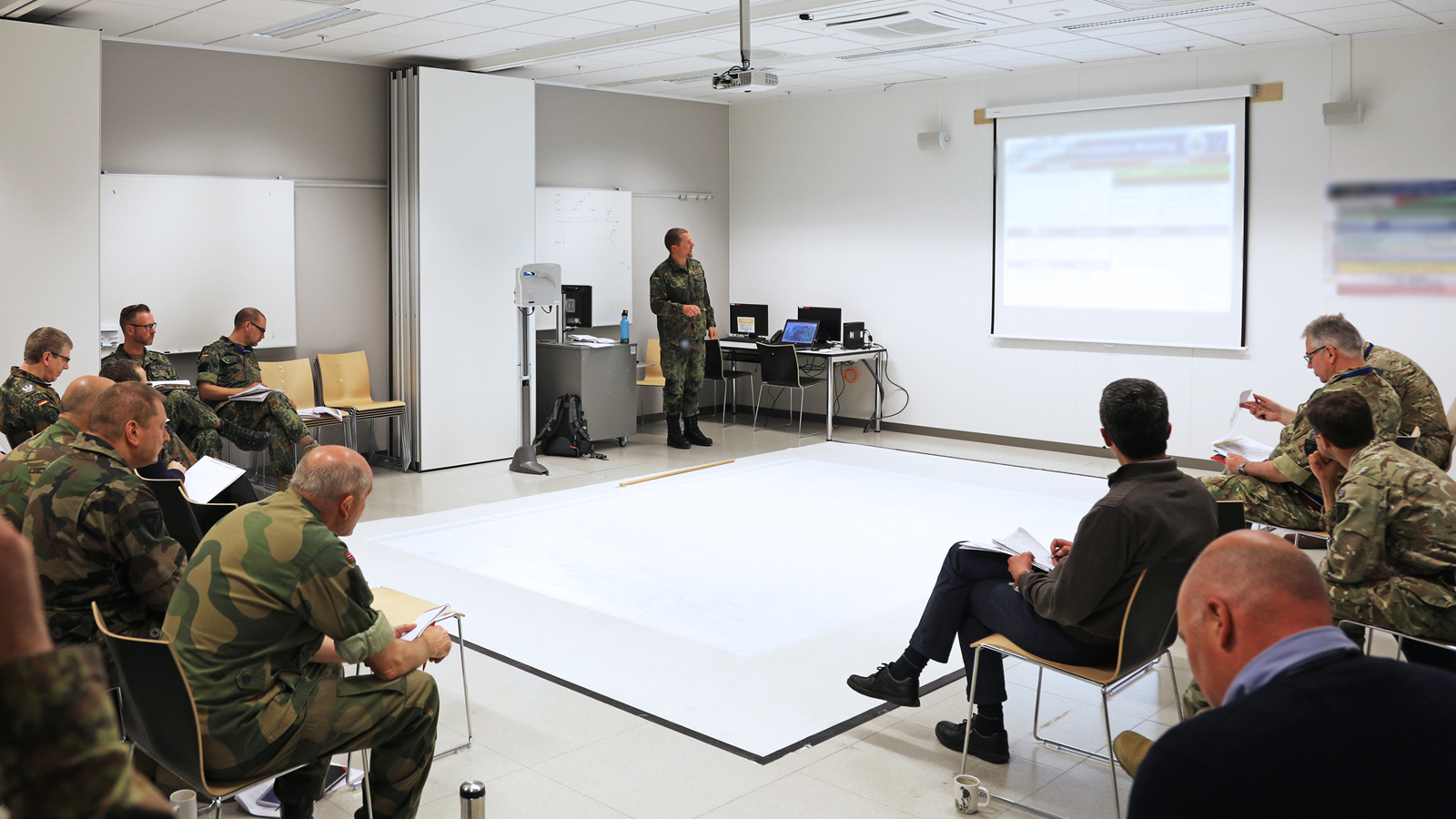 Joint Warfare Centre conducts first EXCON ROC Drill for TRIDENT JUPITER 2019