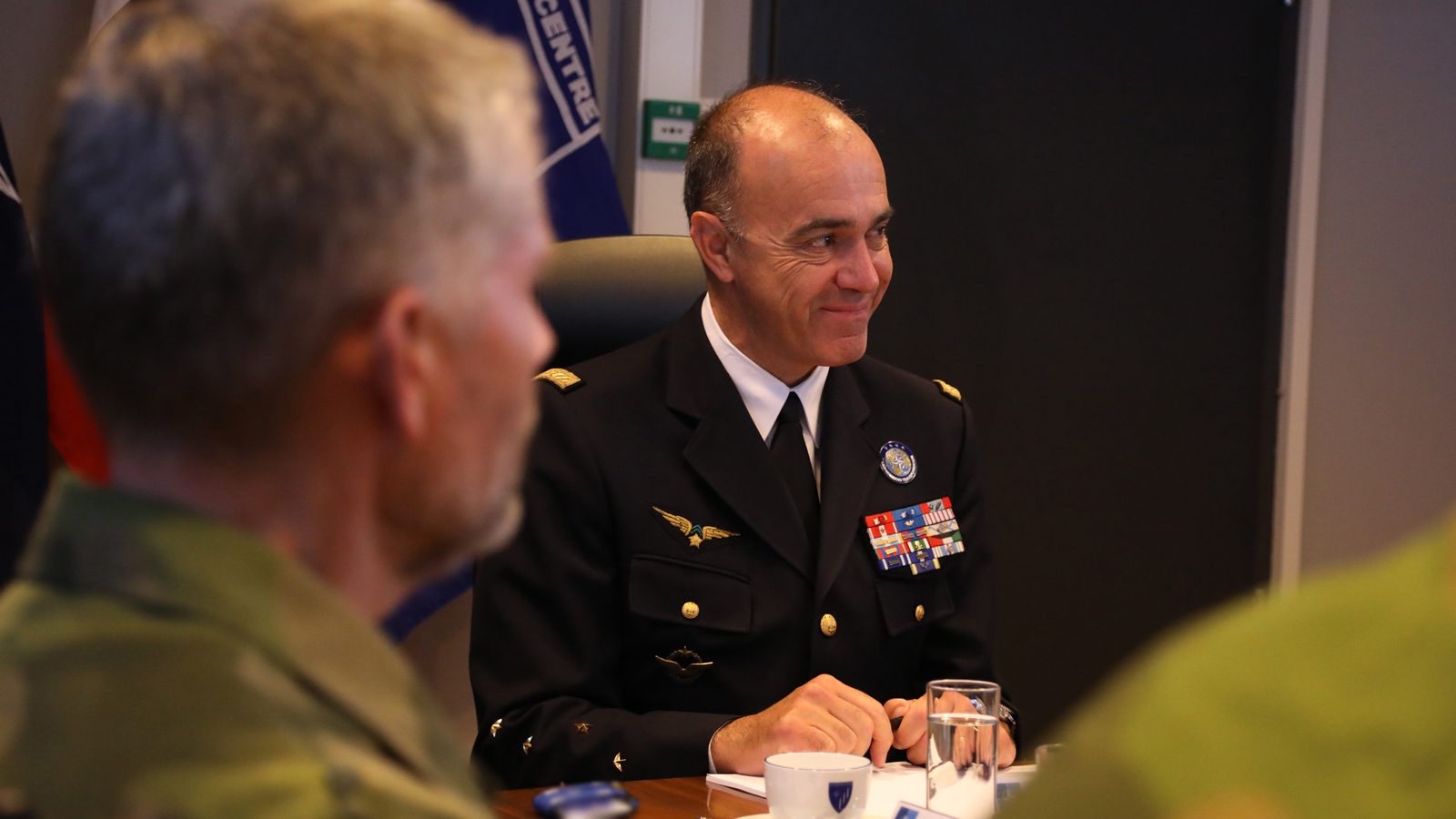 Visit to Joint Warfare Centre by General André Lanata, Supreme Allied Commander Transformation