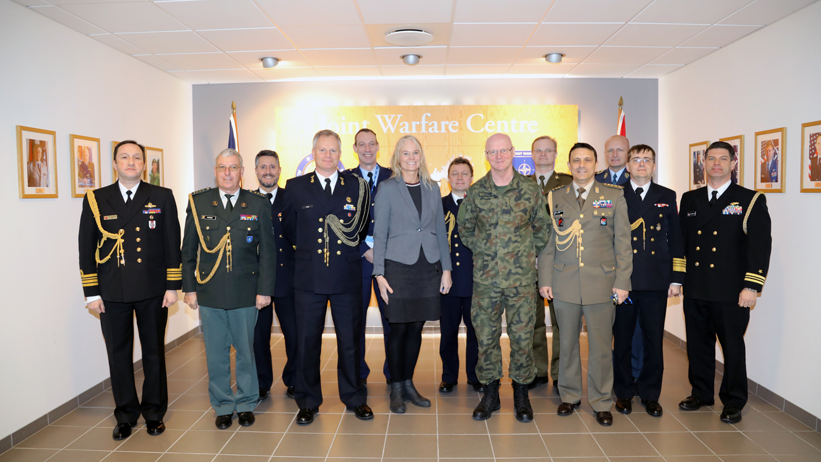 NATO Defence Attachés visit Joint Warfare Centre