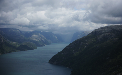 "<strong><font size=""2"">Norwegian Fjords</strong><br /> View of the Fjords</font>"